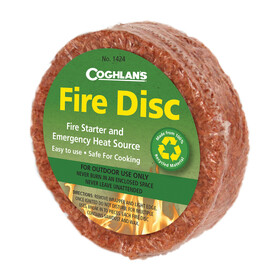 Coghlans Fire Disc Solid Fuel brown